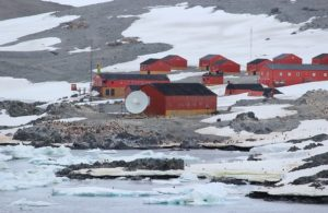 Scientists in the Antarctic