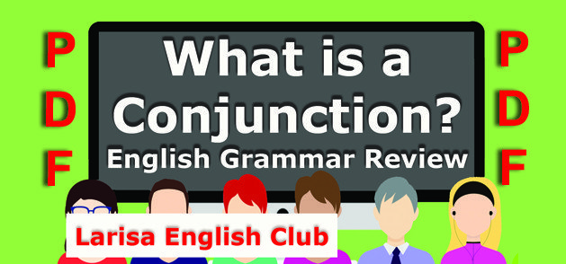 English Grammar Conjunction PDF