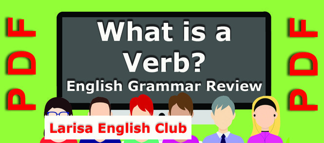 What is a Verb Grammar Review PDF