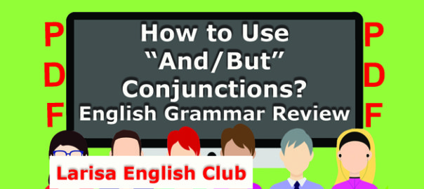How to Use And_But Conjunctions PDF