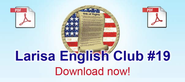 Larisa English Club #19 pdf