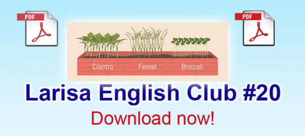 Larisa English Club #20 pdf