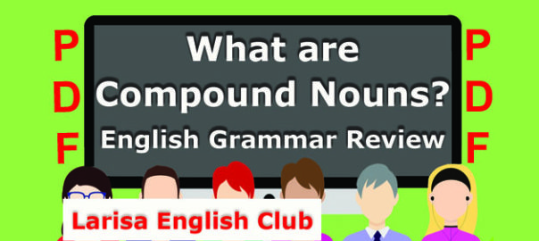 What are Compound Nouns PDF