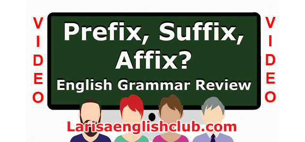 LEC Prefx, Suffix, Affix Video