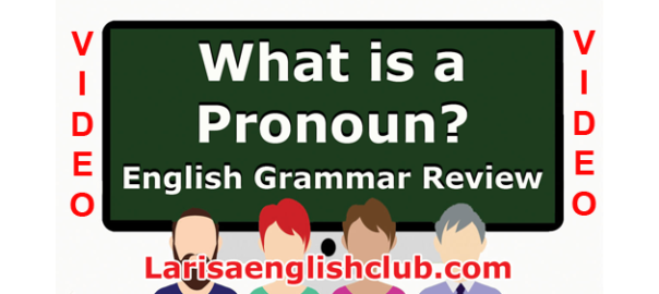 LEC What is a Pronoun Video