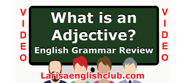LEC What is an Adjective Video