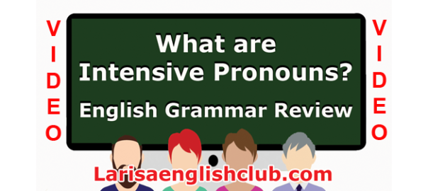 LEC What are Intensive Pronouns