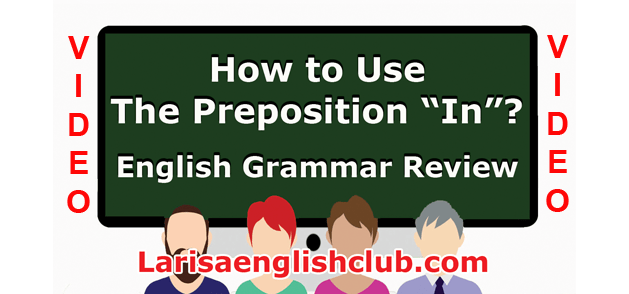LEC How to use the Preposition In