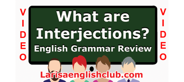 LEC What are Interjections