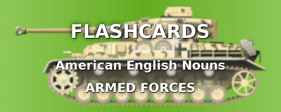 American English Nouns with the Military