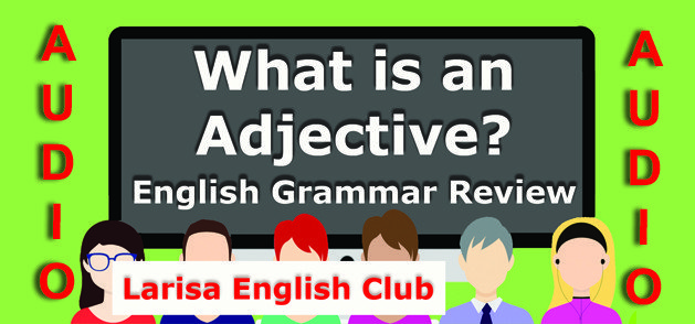 English Grammar Adjective Audio