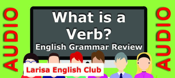 What is a Verb Grammar Review Audio