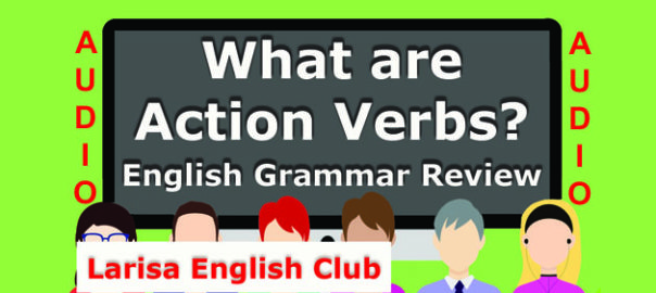 What are Action Verbs Audio