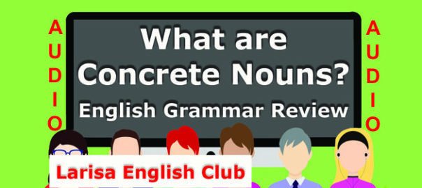 What are Concrete Nouns Audio