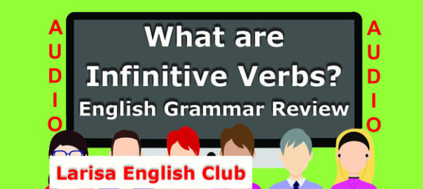 What are Infinitive Verbs Audio