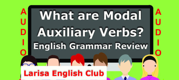 What are Modal Auxiliary Verbs Audio