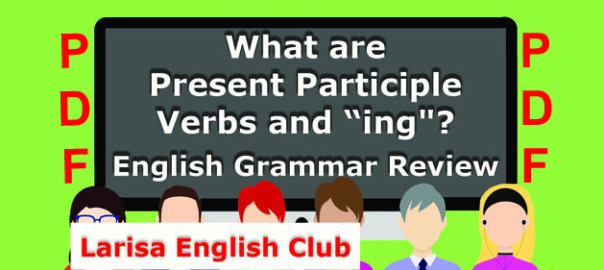 What are Present Participle Verbs and_ing_PDF