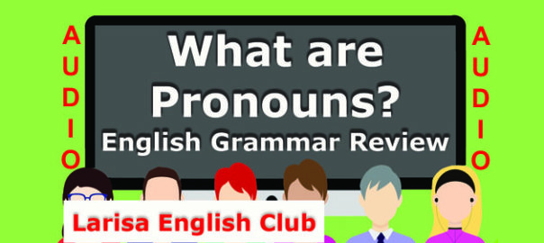 What are Pronouns Audio