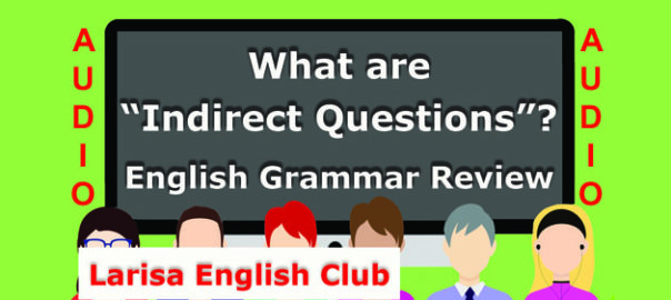 What are Indirect Questions Audio