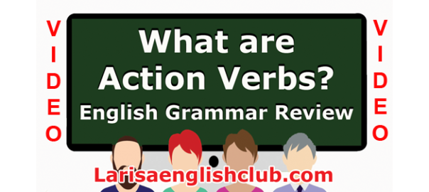 LEC What is a Action Verbs Video