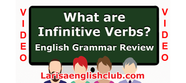 LEC What are Infinitive Verbs