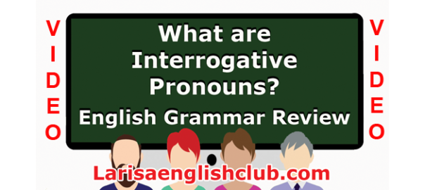 LEC What are Interrogative Pronouns