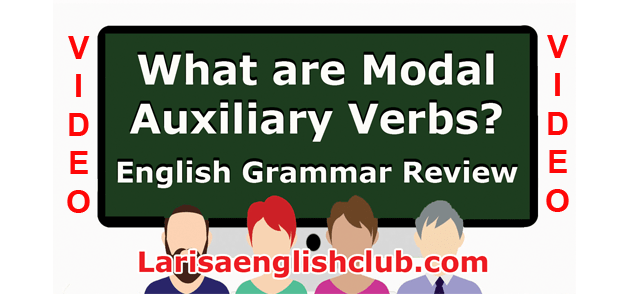LEC What are Modal Auxiliary Verbs