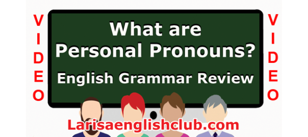 LEC What are Personal Pronouns