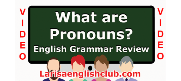 LEC What are Pronouns
