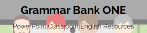Grammar Bank One PowerPoint
