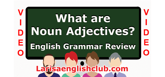 LEC What are Noun Adjectives