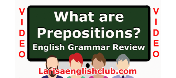 LEC What are Prepositions