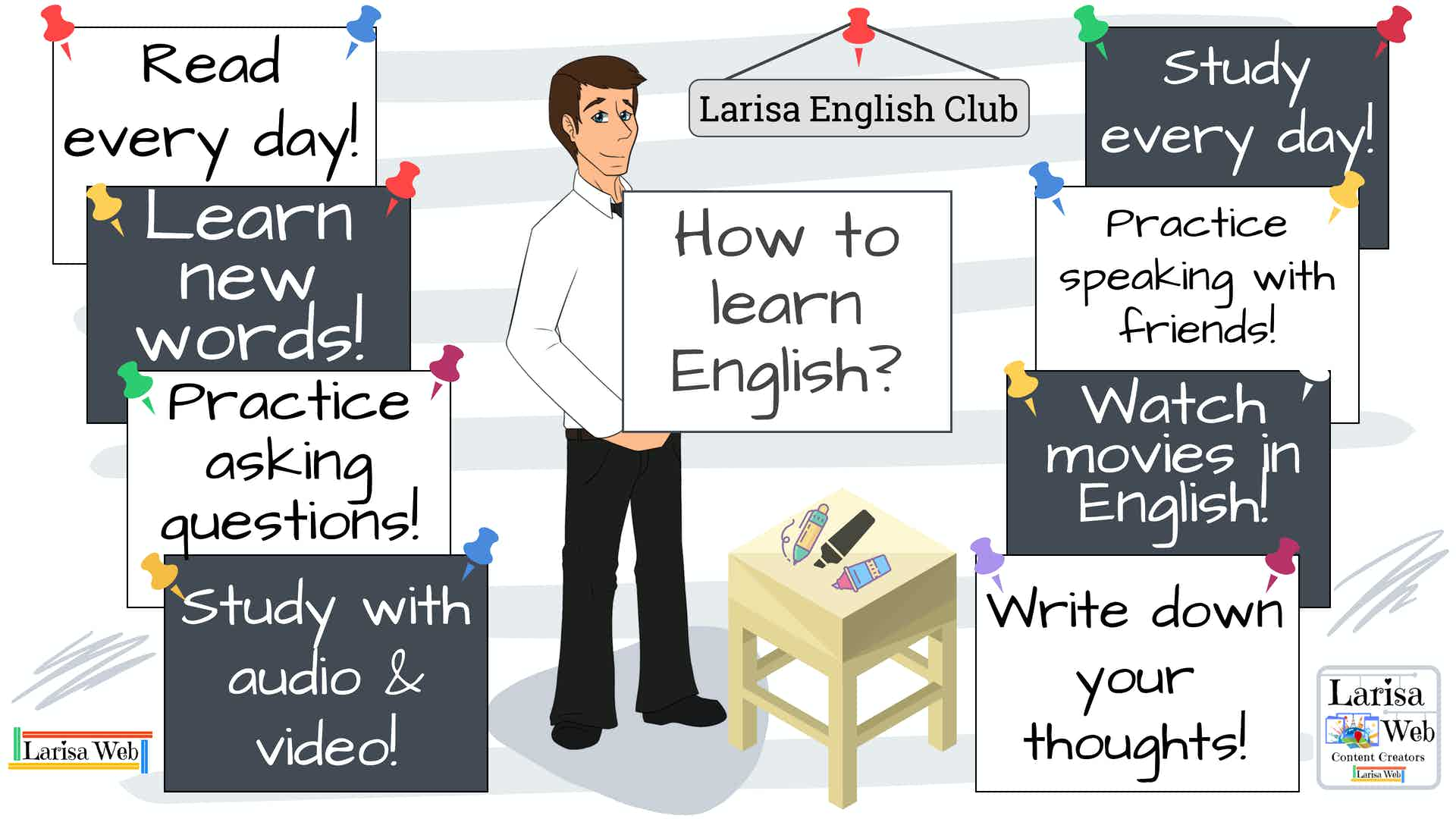Welcome to American English Club